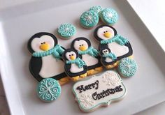 SugarBliss Cookies: SugarBliss Penguins