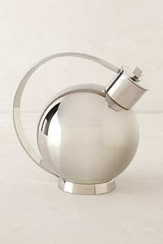 Sylvia Stave Stainless Steel Cocktail Shaker   Anthropologie