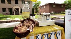 Zack's Shack--in 2014 Zack is 11 years-old and he is still doing his lemonade stand for charity--he also lives in my city, Provo, Utah!  Go Zack!