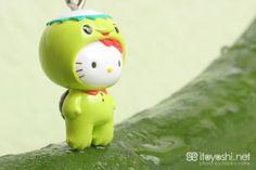 itoyoshi's Gotochi Kitty collection Kappa sushi Hello Kitty special photo by naoko miike Hello Kitty Store, Hello Kitty Items, Sanrio Hello Kitty, Naoko, Hello Kitty Collection, Plushies, Keychains, Minis, Sushi