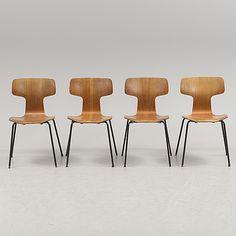 Verner Panton, Fritz Hansen, stol Bachelor, dansk design retro fåtölj 1950 tal