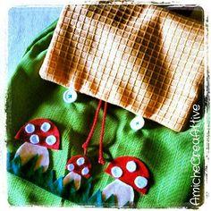 homemade backpack :-))) -AmicheCreaAttive