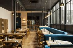 Restaurant BEAUCOUP, 7 rue Froissart. Paris 3. septembre 2014.