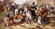 The First Thanksgiving - GraphicaArtis/Getty Images