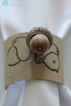 Easiest, Cheapest Acorn Napkin Rings