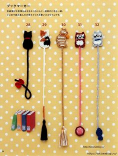 Crochet Bookmark Pattern, Crochet Bookmarks, Diy Bookmarks, Crochet Books, Crochet Motif, Crochet Flowers, Crochet Stitches, Crochet Patterns, Diy Crafts Crochet