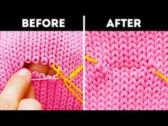 HOW TO BECOME A TAILOR I'll show you how to make basic sewing stitches: running stitch, backstitch, split stitch, french knot and chain stitch. I'll also sho. Basic Embroidery Stitches, Sewing Stitches, Knitting Patterns, Sewing Patterns, Ribbon Embroidery, Sewing Basics, Sewing Hacks, Sewing Tutorials, Sewing Crafts