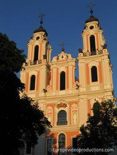 Saint Catherine Church in Vilnius in Lithuania