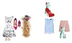 """""""Dress 1"""" by zabby-99 on Polyvore featuring Acne Studios, Topshop, Chicwish, Jean-Michel Cazabat, Rock 'N Rose and Anabela Chan"""