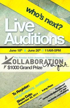 Kollaboration New York 6 Auditions