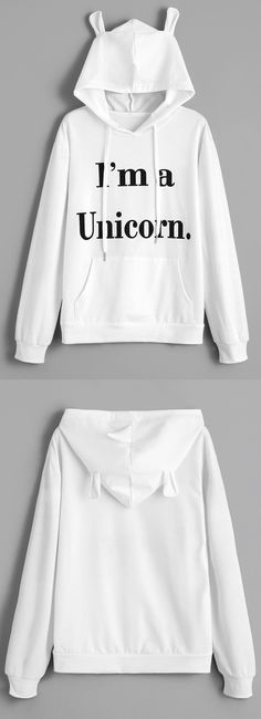 Up to 68% OFF! Unicorn Letter Graphic Drawstring Hoodie. Zaful,zaful.com,zaful fashion,tops,womens tops,outerwear,sweatshirts,hoodies,hoodies outfit,hoodies for teens,sweatshirts outfit,long sleeve tops,sweatshirts for teens,winter outfits,fall outfits,tops,sweatshirts for women,women's hoodies,womens sweatshirts,cute sweatshirts,floral hoodie,crop hoodies,oversized sweatshirt, halloween costumes,halloween,halloween outfits,halloween tops,halloween costume ideas. @zaful Extra 10% OFF…