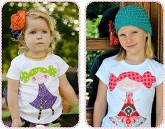 My Best Friend Handmade Girls T-shirt from My Own Threads Clothing