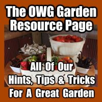 The Gardener's Resource Page - Over 75 gardening tips and tricks and articles for the vegetable gardener!