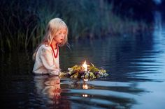 Ivan Kupala: For her mother, no matter were, though she didn't know who her mother was, she lit a candle and sailed it in the water for the women whom died so she could live