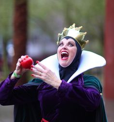 The Evil Queen (Diane Lynn) from Snow White