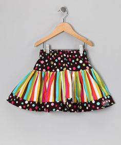 Take a look at this Turquoise Birthday Scoop Twirly Skirt - Infant, Toddler & Girls by Squeaks & Beeps on #zulily today!
