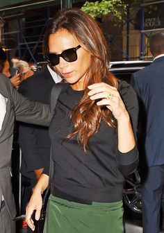 Whoa: Victoria Beckham Has Upgraded Her Engagement Ring 13 Times via @WhoWhatWear