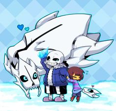 Awe it's a baby Gaster Blaster