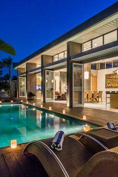 Villa Damai at Aramanis Villas is an award winning villa superbly located in Seminyak on the southwest coast of Bali, located within the highly rated villa estate of Aramanis Villas.   http://balirealtyhv.com/villa/villa-damai-aramanis-3-bedroom/