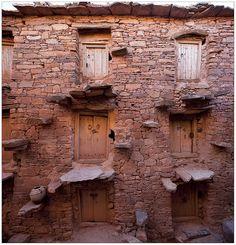 Agadir Aït Oughayne. Région de Taroudant, Maroc.