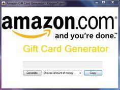 Amazon Gift Card Generator - http://www.virtual-hack.fr/amazon-gift-card-generator/