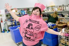 Goodwill Blogger Jenna Isaacson found this Whoopee cushion costume for only $6 at the Hannibal Goodwill store in Missouri