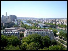 view from eiffel tower - Paris, Ile-de-France