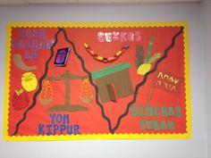 Tishrai Bulletin board  Rosh Hashanah, Yom Kippur, Sukkot, Simchas Torah  High…