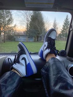 Jordans, Jordan 1, blue, sneakers, fashion, shoefie