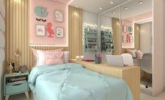Quarto de jovem Kid Room Decor, Bedroom Inspirations, Home Bedroom, Bedroom Makeover, Bedroom Design, Home Room Design, Home Decor, Cool Rooms, Room Decor
