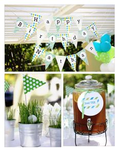 golf theme tablescapes | visit shopsweetlulublog com