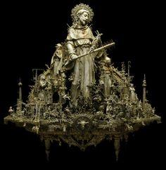 amazing Kris Kuksi sculpture