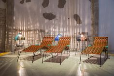 Marni Showcases Colombian-Inspired Furniture Collection at Milan Design Week// Italian fashion house Marni brought Colombia to Italy to showcase its colorful new, Cumbia-inspired furniture collection at Milan Design Week.