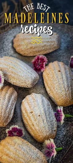 These Vanilla Madeleines Cookies are classic French cake like cookies which are a treat to serve for tea time. Mostly made in a shell shaped mold, these are super easy to make at home. Light Desserts, Mini Desserts, Sweet Desserts, Pollo Frito Estilo Kentucky, French Dessert Recipes, Cake Recipes, Baking Supply Store, French Cake, Recipes