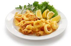 Calamari fritti al profumo di limone - Parliamo di Cucina