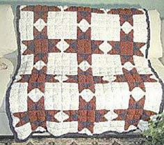 Ravelry: Ohio Star Crochet Quilt pattern by C.L. Halvorson - free Ravelry download