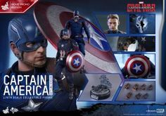 #HotToys #CaptainAmerica Battling Version Sixth Scale Figure Pre-Orders   http://www.toyhypeusa.com/2016/04/15/hot-toys-captain-america-battling-version-sixth-scale-figure-pre-orders/  #CaptainAmericaCivilWar #Marvel #Sideshow