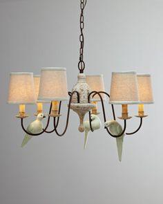 """""""Bird"""" Chandelier by Regina-Andrew Design at Neiman Marcus."""