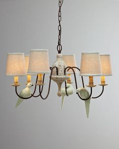 """Bird"" Chandelier by Regina-Andrew Design at Horchow."