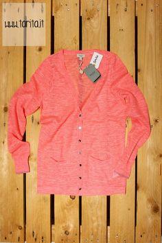 Tarita S/S 2013.   Hoss Intropia, light neon pink sweater.