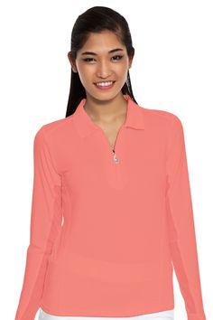 Golf Apparel l SanSoleil SolTek Sun Shirt : 900403
