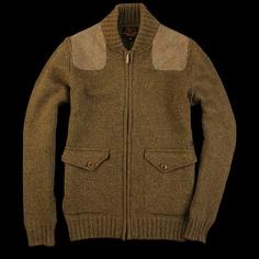 Barbour - Osprey Zip Thru Jacket in Olive