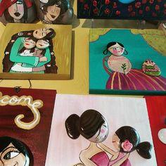 Annelere özel tasarım...#tasboyama #tasilesanat #stonepainting #ston #uniq #uniqistanbul