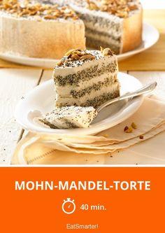 Mohn-Mandel-Torte - smarter - Zeit: 40 Min. | eatsmarter.de