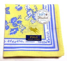 POLO Ralph Lauren Handkerchief hanky scarf bandanna Pink Auth New JPN Limited #POLORalphLauren