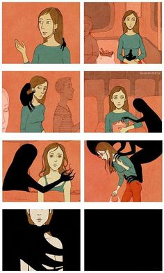 Depression ~ this is what it feels like!