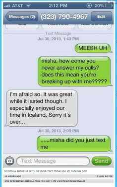 So Yesterday Misha Collins Gave Out His Number On Twitter. some of these made me a little too happy....
