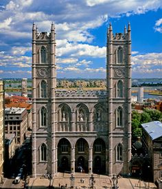 BEEN - Montreal, Quebec, Canada (Notre-Dame Basilica of Montréal in Vieux Montreal / Old Montreal)