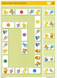 HIER IS EEN doen we LOGICO PRIMO Piccolo and Exchange Sluiting Onderwerp / permanent gearchiveerd issues / Forum Montessori Activities, Brain Activities, Activities For Kids, Sequencing Cards, Math Patterns, Busy Boxes, Kids Prints, Worksheets For Kids, Creative Thinking