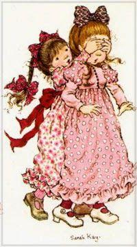 Sara Key Imagenes, How To Drow, Sara Kay, Holly Hobbie, Kawaii, Love Painting, Illustrations And Posters, Filet Crochet, Vintage Ladies